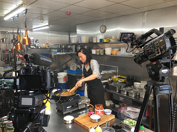 Chinese Cooking Demonstration Demo Filming - Product Video - Kitchen recipe - Blackpool, Lancashire, Videoing