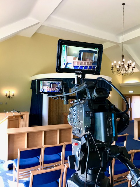 Funeral filming and live stream services Crematoriums or Churches