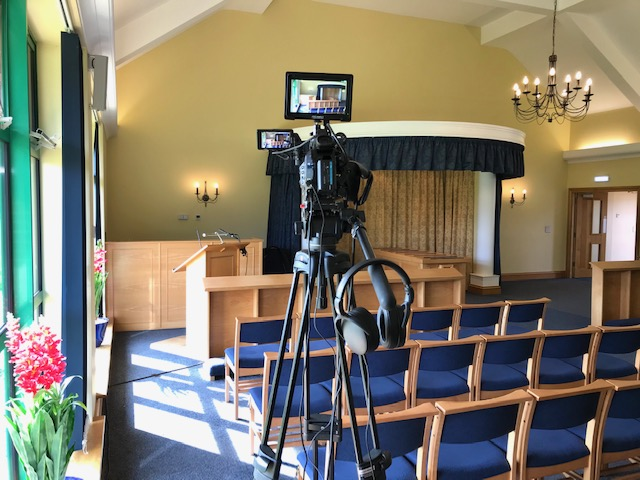 Funeral live streaming for churches and crematoriums in Lancashire and Cumbria