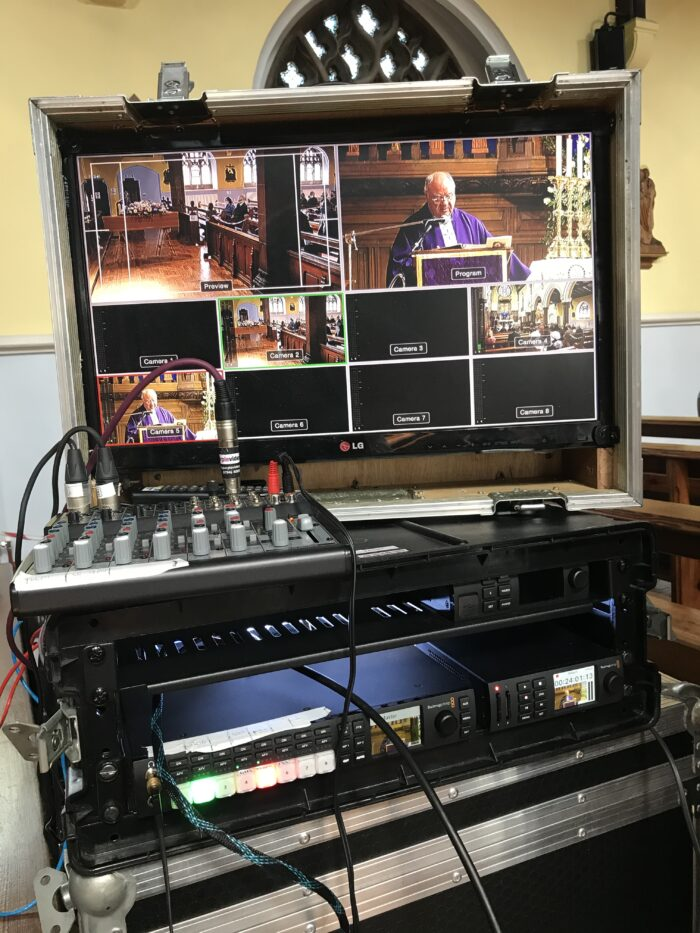 Funeral Filming Live Streaming Carlisle Cumbria Multi-camera