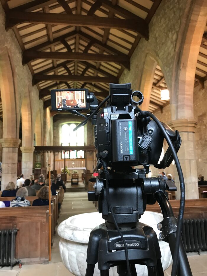 Funeral Filming Live Streaming Kirkby Lonsdale Lancashire Church