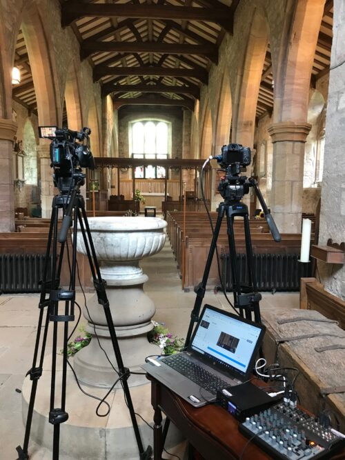 Funeral Filming Live Streaming Kirkby Lonsdale Lancashire