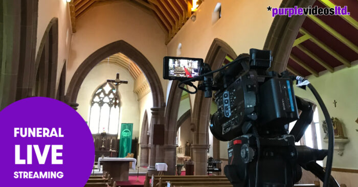 Widnes Merseyside Funeral Filming Live Streaming Services