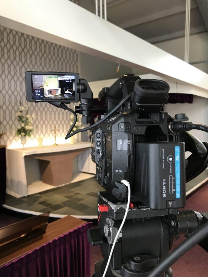 Funeral Filming Live Streaming Preston Crematorium Lancashire