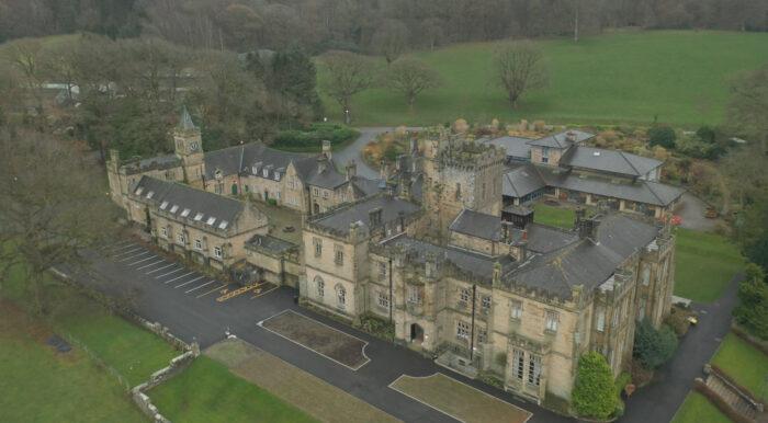 Capernwray Hall Video Production Drone Lancashire