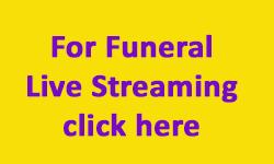 Funeral Live Streaming Lancashire Cumbria