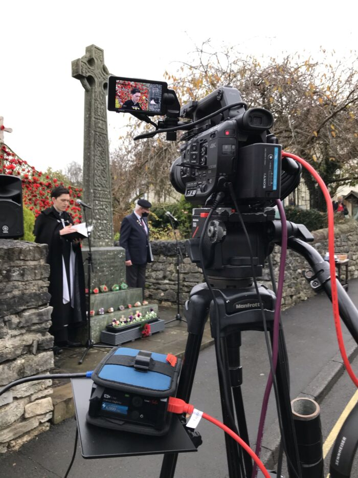 Live Streaming Remembrance Sunday Church Outdoor Service Live Streaming Webcast