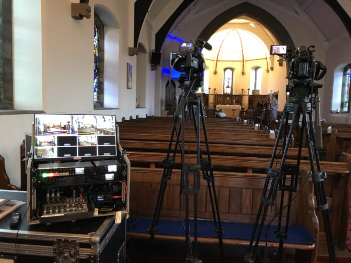 Funeral Live Streaming and Webcasting in Burnley Lancashire - Funeral Filming & Videography