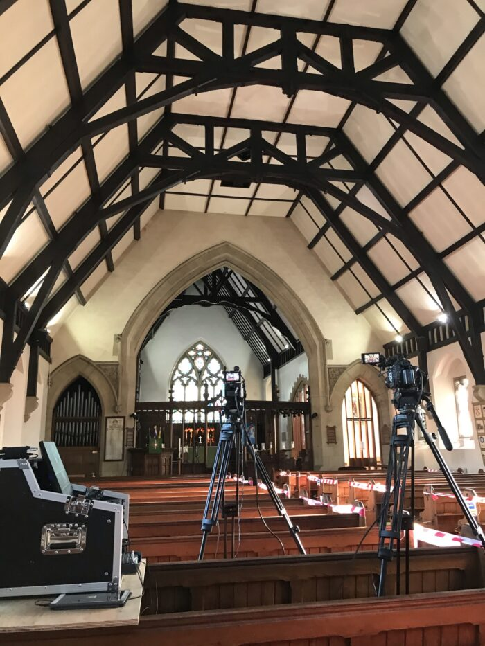 Professional Funeral Live Streaming Videography Filming in Salesbury, Blackburn, Lancashire