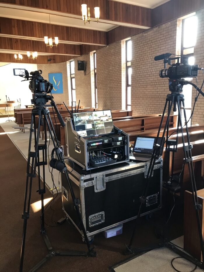 Funeral Live Streaming at St. John's Church, Leyland Lancashire. Webcasting North West England