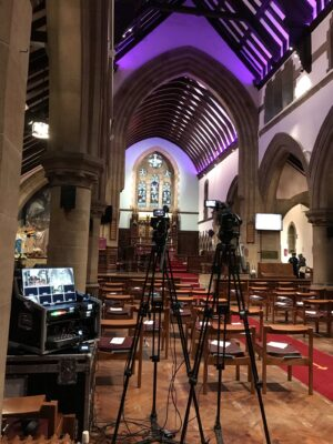 Funeral Filming Live Streaming Leyland Lancashire - Webcasting