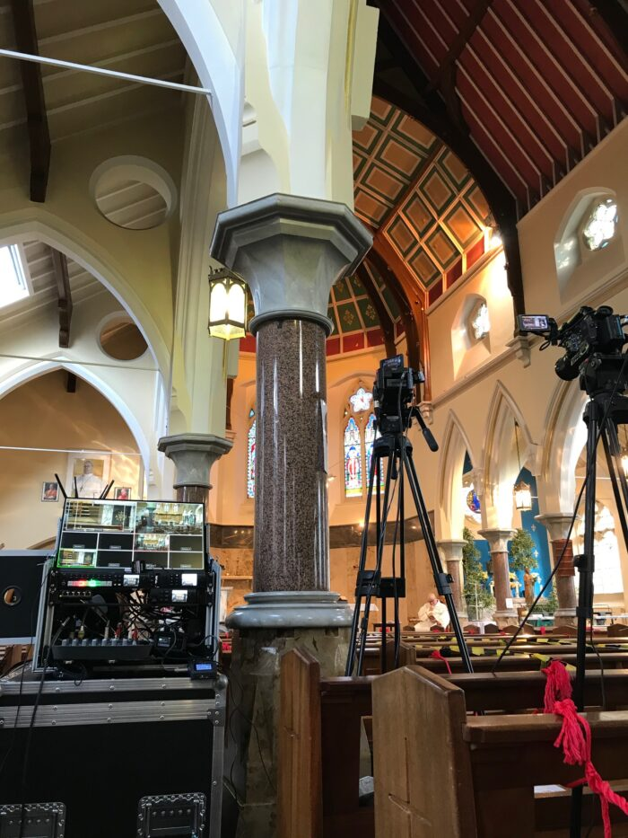 Funeral Live Streaming Manchester Church in Rusholme