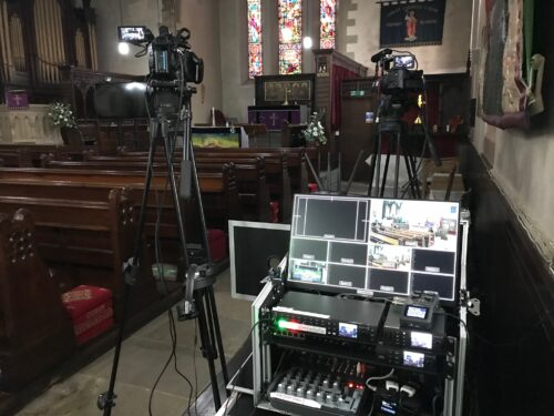 Church Funeral Live Streaming in Colne near Burnley, Lancashire