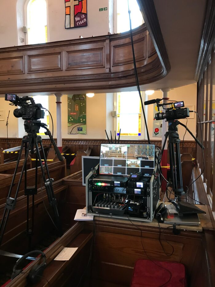Church Funeral Live Streaming in Kirkby Stephen, Cumbria