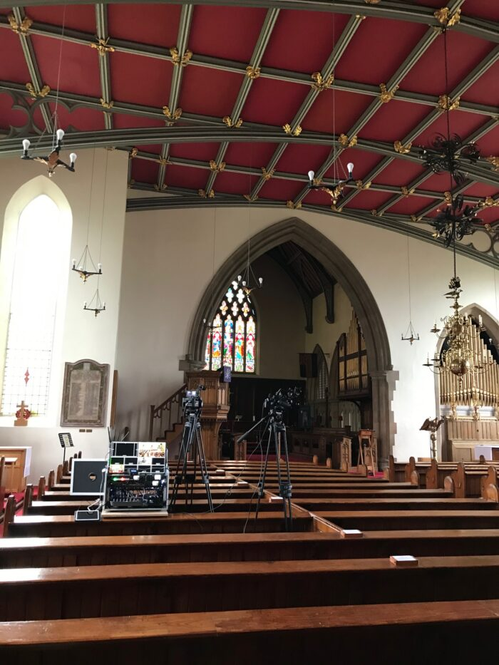 Professional Funeral Live Streaming and Filming in Kirkham, Lancashire