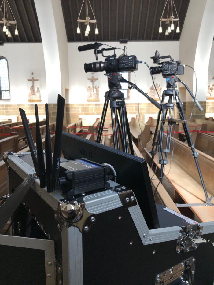 Professional Multi-Camera Funeral Live Streaming, Preston, Lancashire