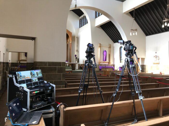 Professional Multi-Camera Funeral Live Webcast, Preston, Lancashire