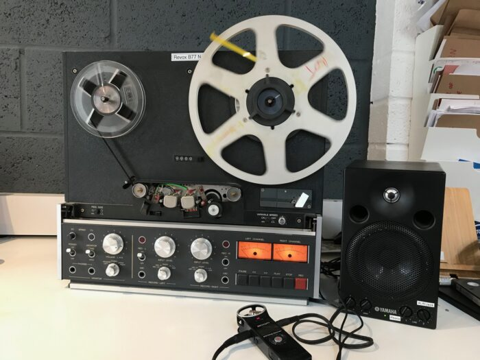 Revox Tapes Reel to Reel transfers and conversions