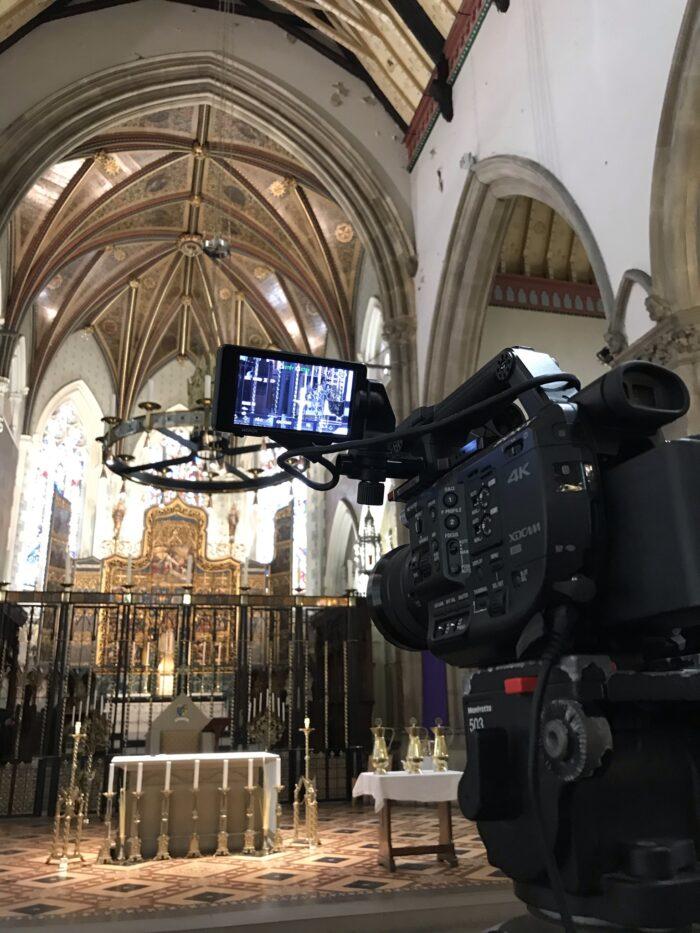 Holy Week Lancaster Catherdral Service Webcast Lancashire