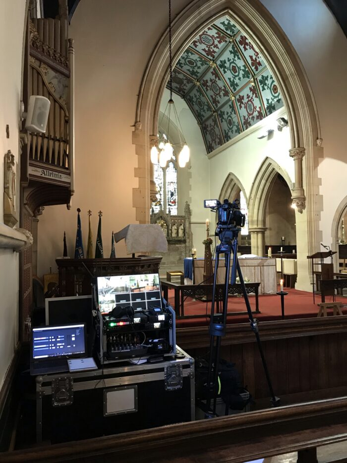 Professional Funeral Live Streaming, Christ Church, Lancaster, Lancashire