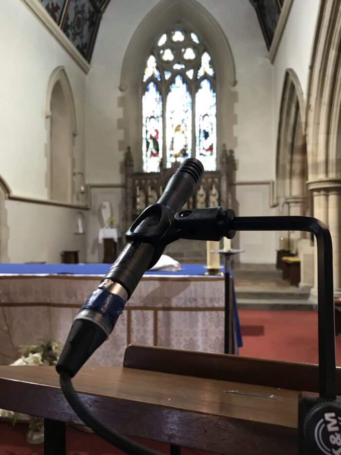 Professional Funeral Live Streaming Microphone Lancashire