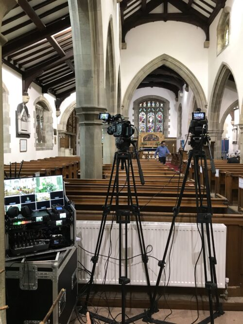 Funeral Live Streaming Webcast Brookhouse, Caton, Lancashire