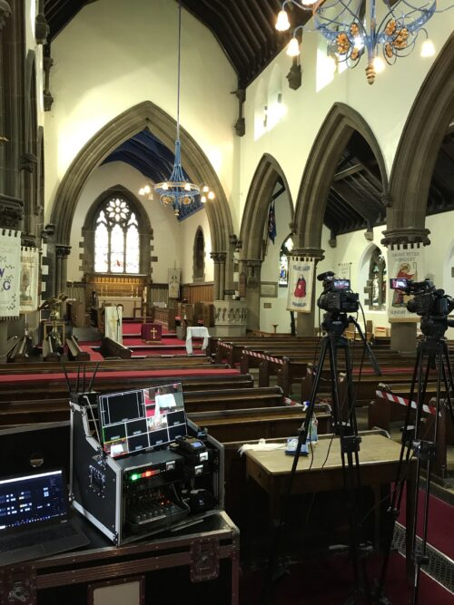Funeral Live Streaming Webcasting Hindley, Wigan