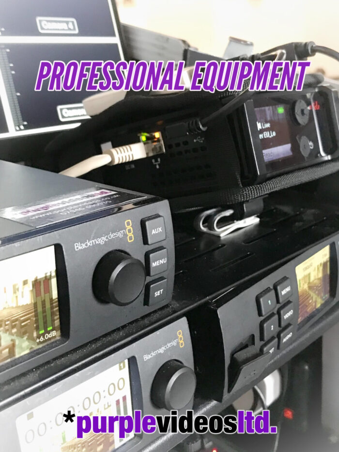 Funeral Live Streaming Webcasting Manchester & Liverpool - Discreet & UnobtrusiveProfessional Equipment